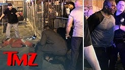 The Fight That Started The Game and T.I. INTENSE LAPD Standoff | TMZ