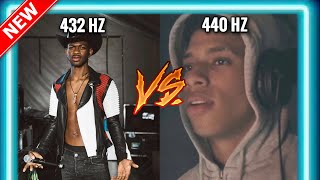 432 hz vs 440 hz Rap Music