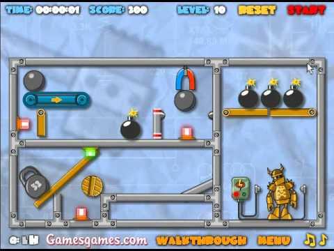Crash the Robot: Explosive Edition Walkthrough - Levels 1-15