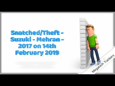 Stolen Vehicle Recovered by Megatech trackers