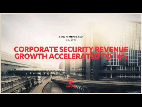 CORPORATE SECURITY REVENUE GROWTH ACCELERATED TO 16%