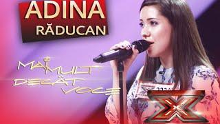 "Judy Garland - ""Somewhere over the rainbow"". Interpretarea Adinei Răducan, la X Factor!"