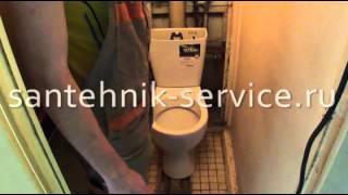 Установка унитаза santehnik-service.ru(Установка унитаза профессионалом. Сайт: http://www.santehnik-service.ru/ тел. 8 (495) 641-82-21 Данное видео является полноценны..., 2012-06-29T08:38:13.000Z)