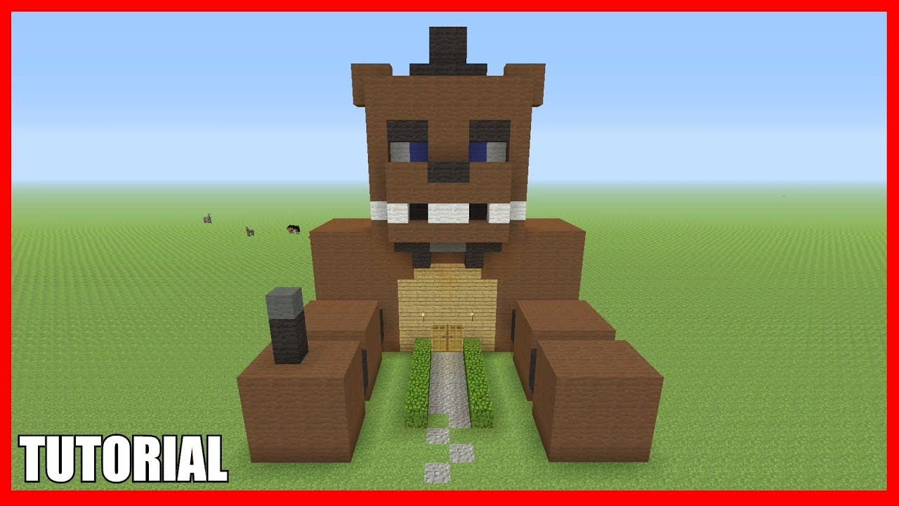 building freddy fazbear's pizza place in minecraft #6 ...