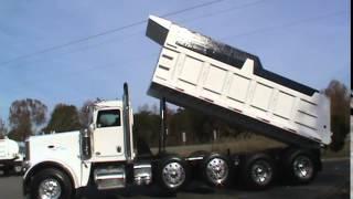 2012 Peterbilt 388 Quad Axle Dump Truck