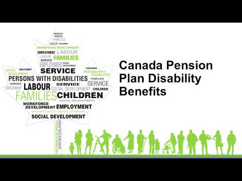 Canadian Pension Plan Disability