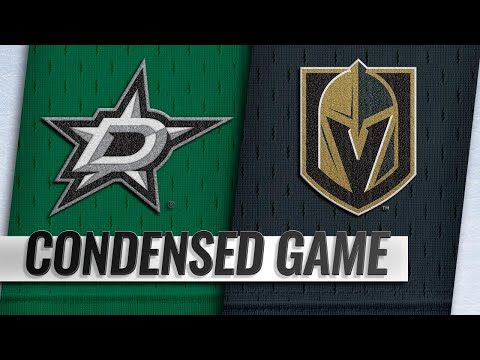 12/09/18 Condensed Game: Stars @ Golden Knights
