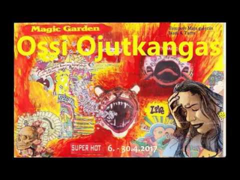 Ossi Ojutkangas exhibition opening 6.4.2017