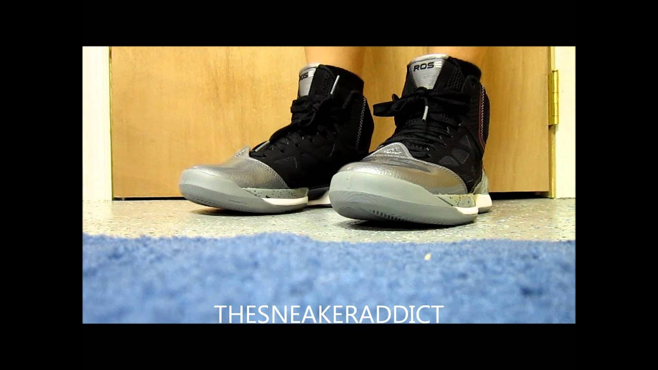 sneakers for cheap 0a26e c9d33 2012 Adidas Derrick Rose Adizero Playoff 2.5 Sneaker Review W   DjDelz
