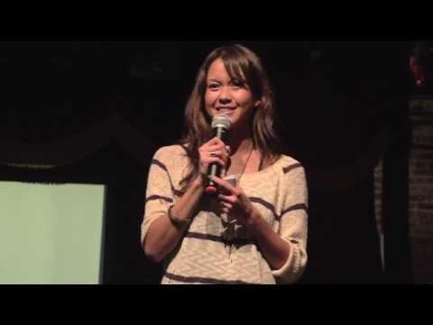 The magic of real: Liza Mosquito de Guia at TEDxBrooklyn