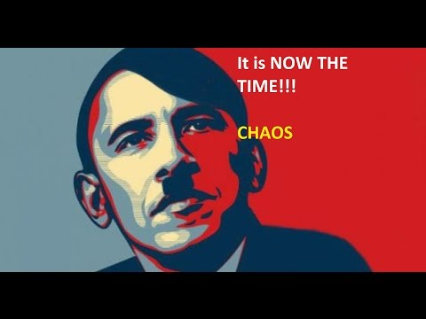 Obama Chaos: He's about to PULL THE TRIGGER!