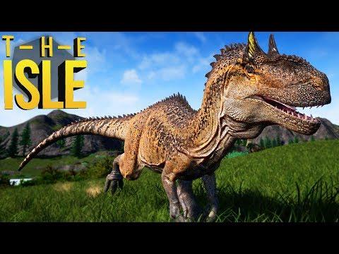 The Isle - Novo Allosaurus, Caçando Em Grupo, Atacando Herbívoros!   Dinossauros (#144) (PT-BR)