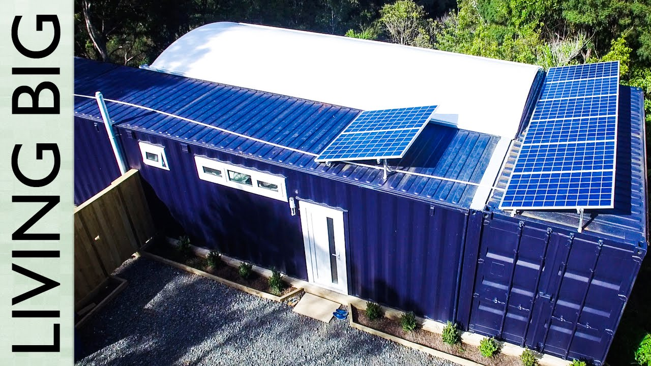 Small Shipping Container Homes spectacular 40ft small shipping container home - youtube