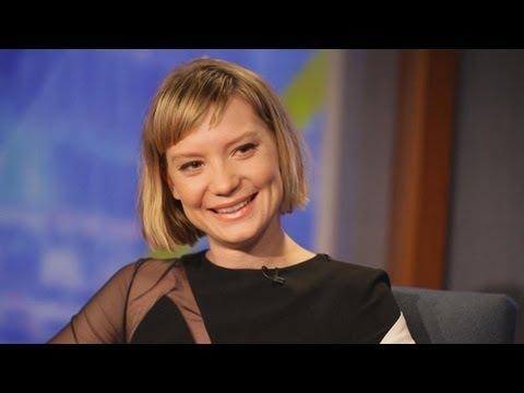 Mia Wasikowska on her new film Stoker