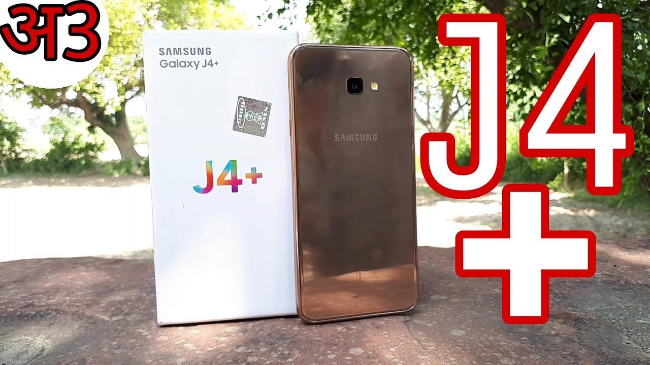 Galaxy J4+ Gold Unboxing, (J4 Plus)