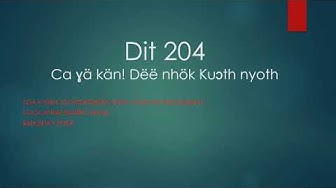 Dit 204 Ca ɣä kään!