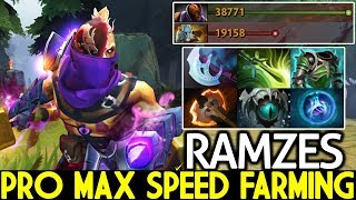 Ramzes [Anti Mage] Pro Max Speed Farming Full Slotted Game Over 7.21 Dota 2