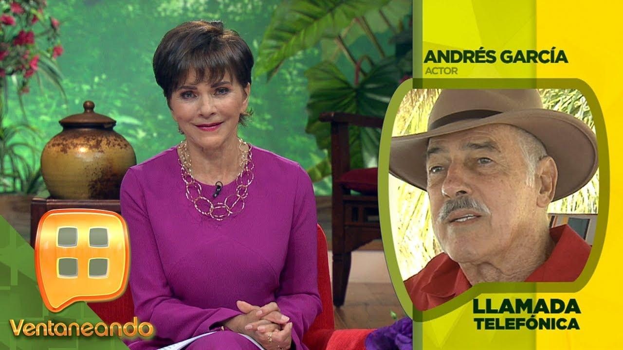 Andrés García lamenta la muerte de Sonia Infante, con quien tuvo una intensa relación.