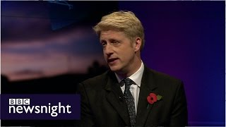 Jo Johnson MP on new universities - Newsnight