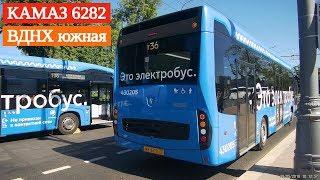 Фото Прибытие электробуса на ВДНХ южная  19 мая 2019