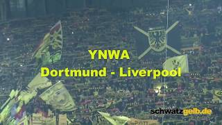 Dortmund and Liverpool Fans singing best YNWA award 2016 YOU'LL NEVER WALK ALONE BVB - LFC
