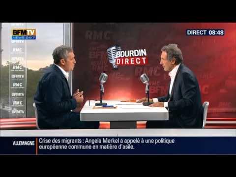 Interview Jean-Jacques Bourdin RMC et BFMTV