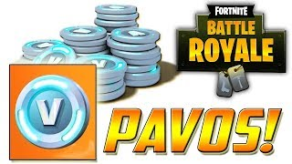 "All ways to get ""FREE"" PAVOS for Fortnite Battle Royale and Save the World"