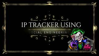 How to track any *target* using IP-Logger and IP-Tracker