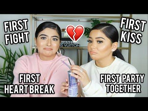 FIRST TIME CHALLENGE FT. MY SISTER