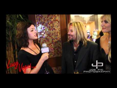 Lucy Vegas.com interviews Vince Neil