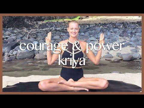 Kundalini Yoga Set: Third Chakra For Courage & Power...