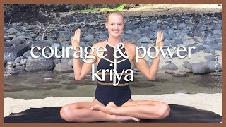 Kundalini Yoga Set: Third Chakra For Courage & Power   KIMILLA