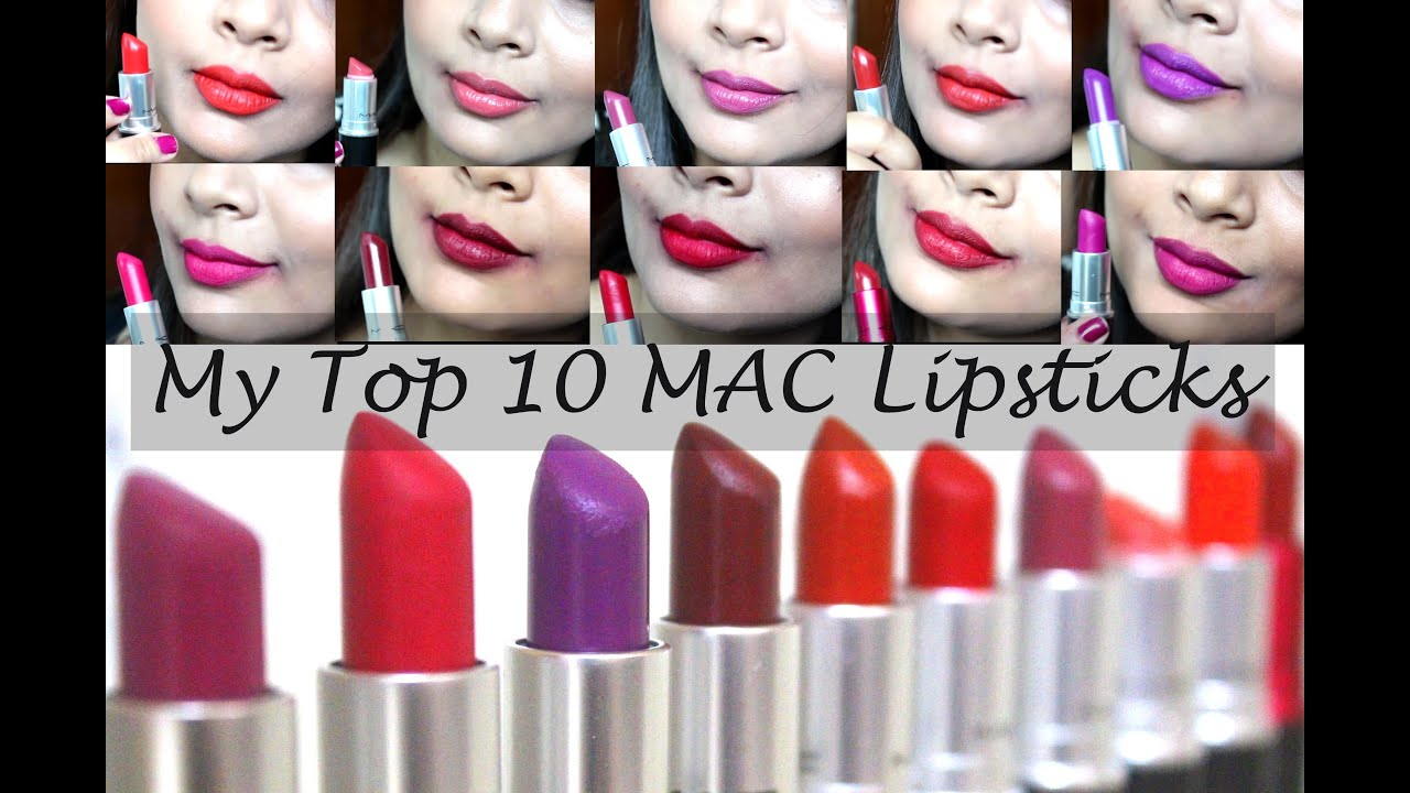 My Top MAC Lipsticks For Indian Olive Skin Tone YouTube - Best mac lipsticks shades for all type of skin tone
