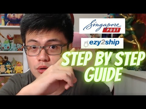 Ezy2Ship Full Website Guide   Step By Step Instruction   Singapore Youtuber