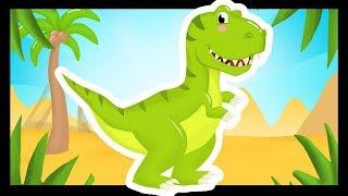 Le Tyrannosaure - La chanson pour les enfants avec les dinosaures - Titounis
