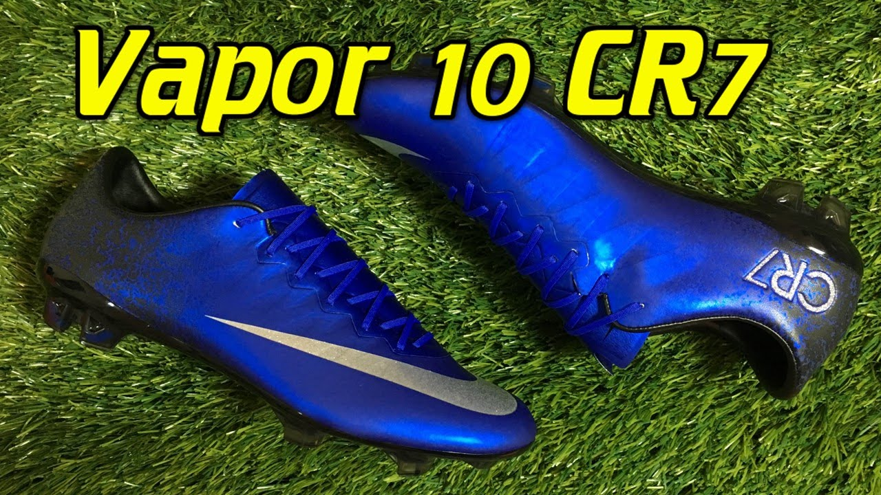 CR7 Nike Mercurial Vapor 10 Natural Diamond - Review + On Feet - YouTube f7dab13877f3