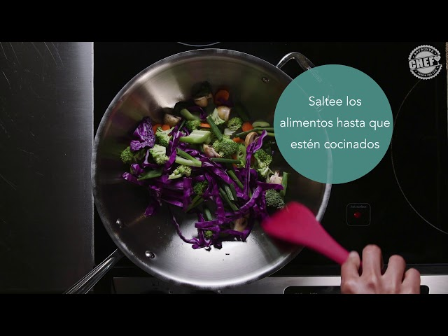 CHEF Culinary Skills: Stir-Frying (Spanish)