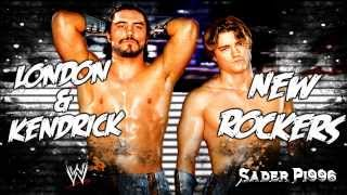 "WWE: Paul London & Brian Kendrick Theme ""New Rockers"" [Arena Effects + HQ]"