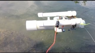 Sensor Sub: First Water Test