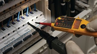 how does Fluke test the new and improved Two-Pole Voltage Testers?