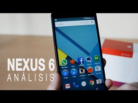 Nexus 6, análisis en español a fondo