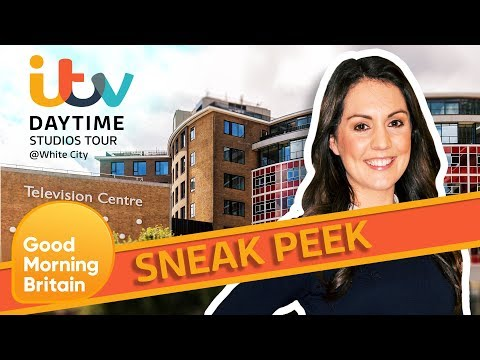 Take An Exclusive Look At The ITV Studios Tour With Laura Tobin | Good Morning Britain