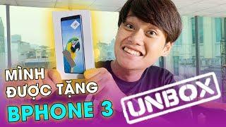 MÌNH ĐƯỢC TẶNG 2 CHIẾC BPHONE 3!! - UNBOX BPHONE 3 ĐEN & TRẮNG