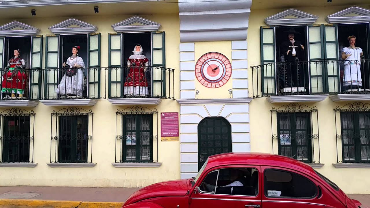 show de autómatas de Zacatlán
