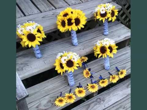 corsage-sunflower-picture-ideas-for-wedding-|-corsage-sunflower-romance
