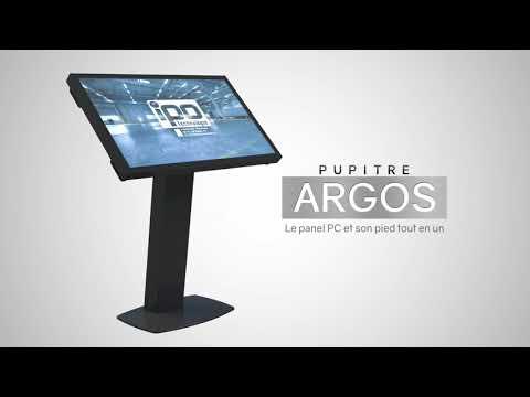 Pupitre ARGOS 32 & 46 pouces par IPO Technologie