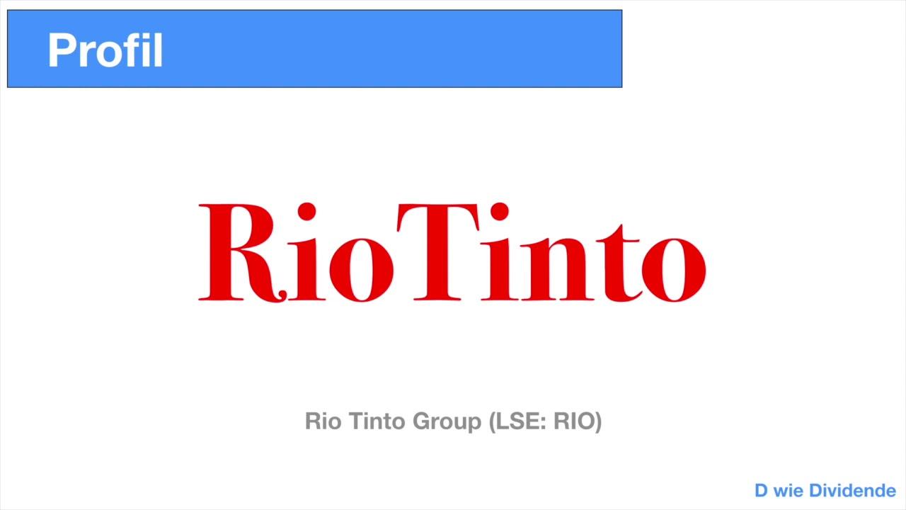 Dividende Rio Tinto
