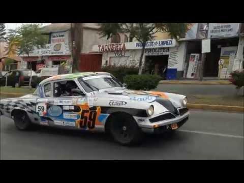 LA CARRERA PANAMERICANA 2014 TEHUACÁN, PUEBLA
