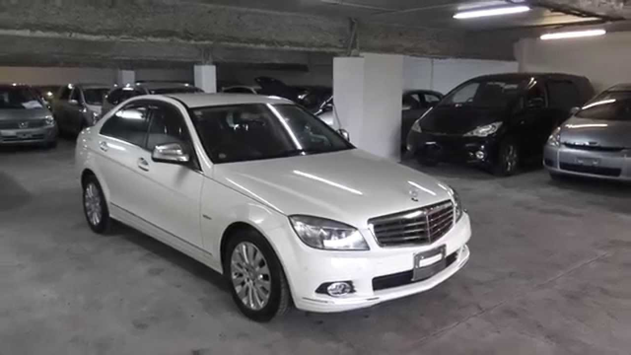 Importing directly from japan mercedes benz c class for Mercedes benz v6