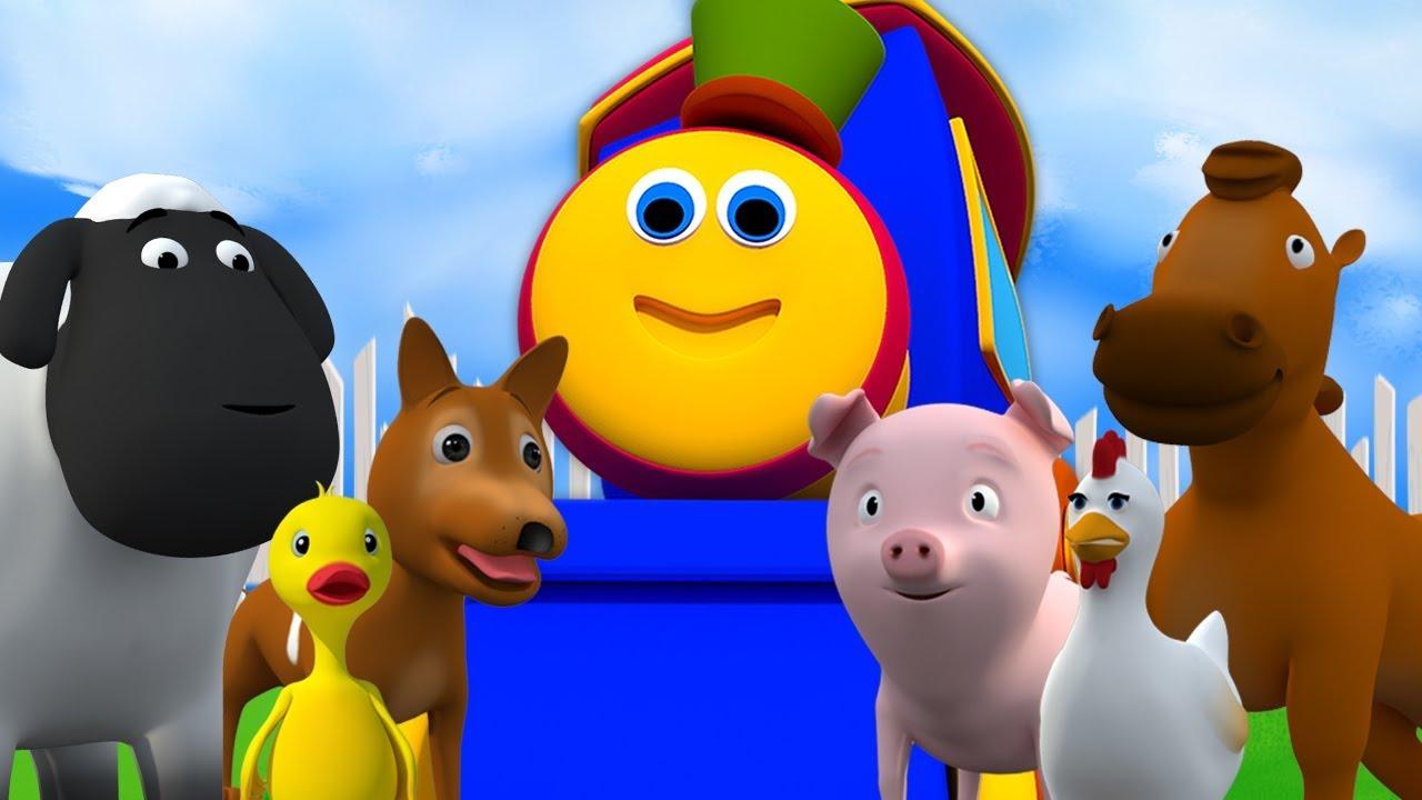 Download Bob Der Zug Ging Zur Farm | Kinderreime Für Kinder | Bob Train Went To Farm | Kids Tv Deutschland